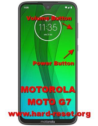 hard reset motorola moto g7 & moto g7 plus
