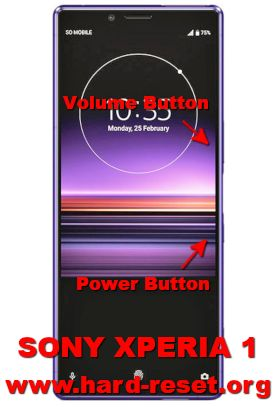 hard reset sony xperia 1 (one)