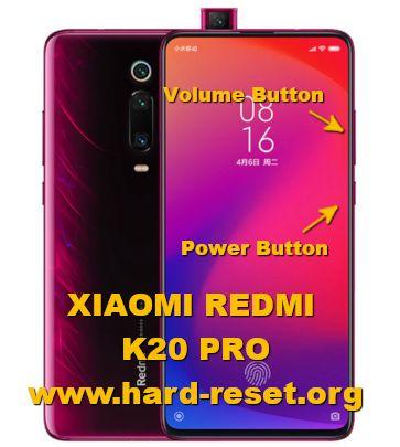 hard reset xiaomi redmi k20 pro