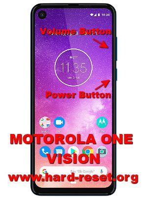 hard reset motorola moto one vision