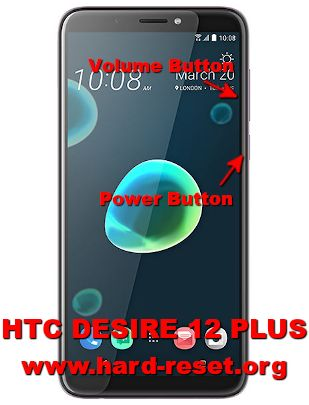 hard reset htc desire 12 plus