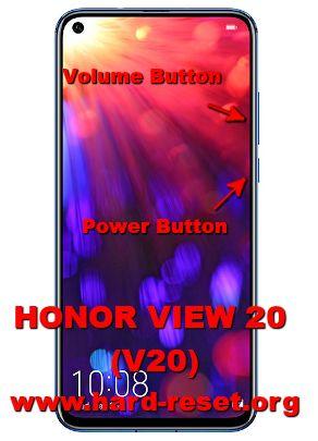 hard reset huawei honor view 20 / v20