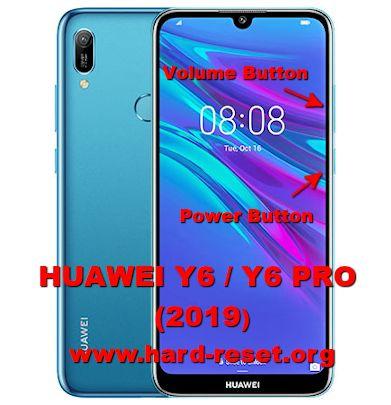 hard reset huawei y6 / huawei y6 pro 2019