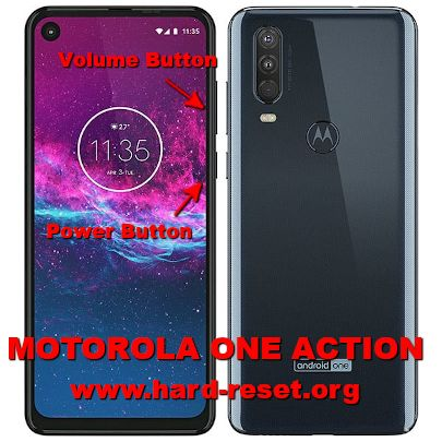 hard reset motorola one action