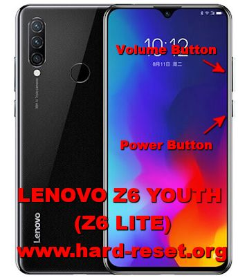 hard reset lenovo z6 youth / z6 lite