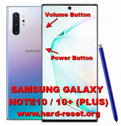 hard reset samsung galaxy note10 / galaxy note 10plus