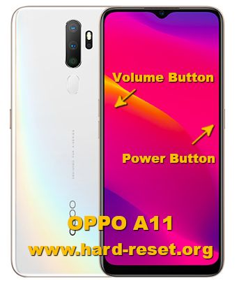 hard reset oppo a11