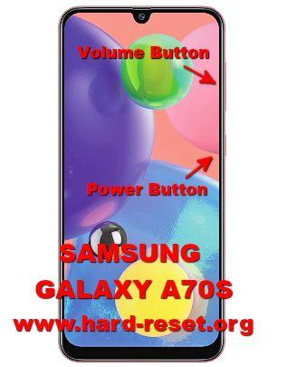 hard reset samsung galaxy a70s