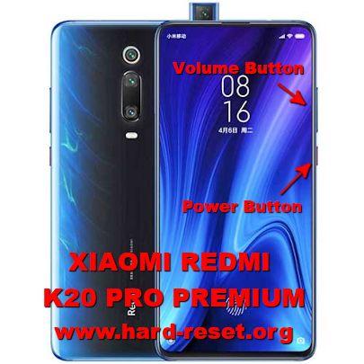 hard reset xiaomi redmi k20 pro premium