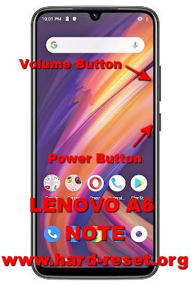 hard reset lenovo a6 note