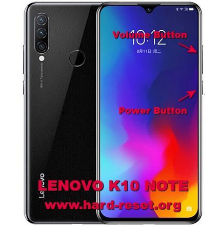 hard reset lenovo k10 note