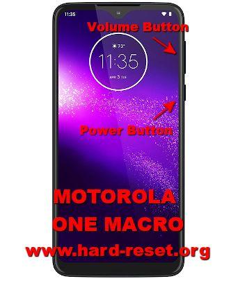 hard reset motorola one macro