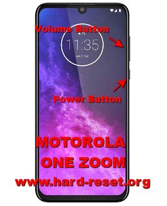 hard reset motorola one zoom / motorola one pro
