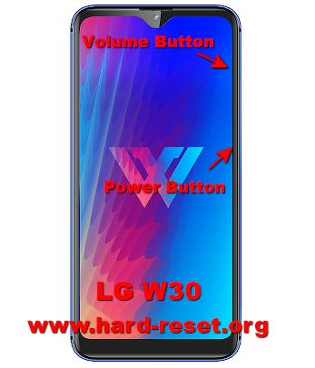 hard reset lg w30