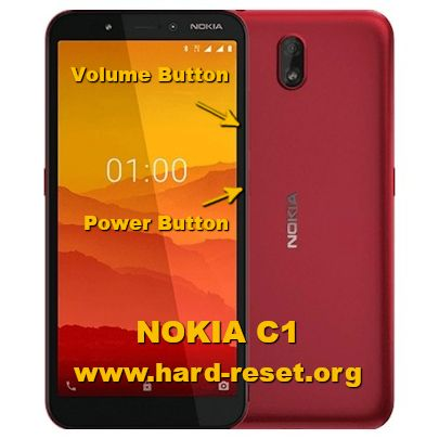hard reset nokia c1 android go
