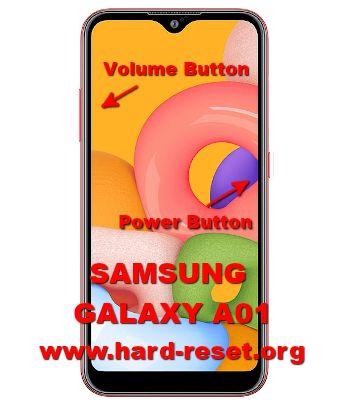 hard reset samsung galaxy a01