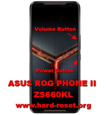 hard reset asus rog phone2 zs660kl