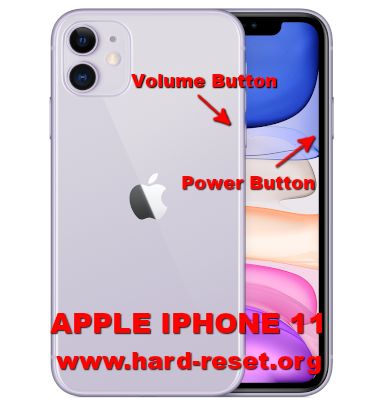 hard reset iphone 11