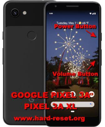 hard reset google pixel 3a / pixel 3a xl