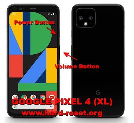 hard reset google pixel 4 / pixel 4 xl