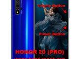 hard reset huawei honor 20 / honor 20 pro