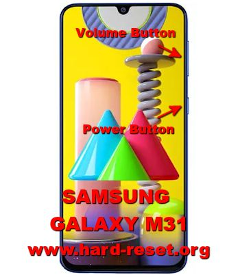 hard reset samsung galaxy m31
