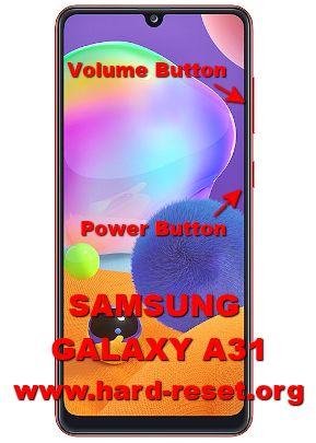 hard reset samsung galaxy a31