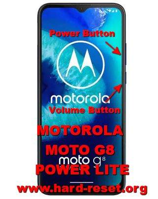 hard reset motorola moto g8 power lite