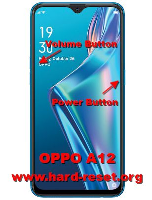 hard reset oppo a12