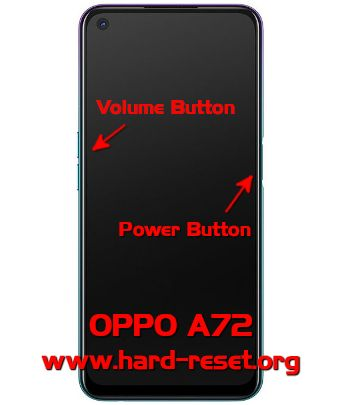 hard reset oppo a72