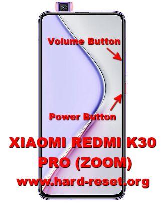 hard reset xiaomi redmi k30 pro / k30 pro zoom
