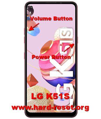 hard reset lg k51s