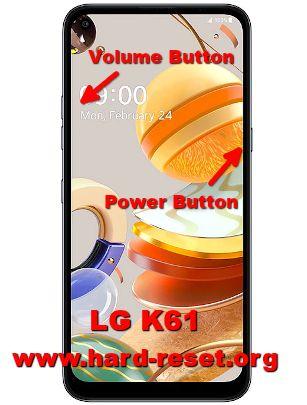 hard reset lg k61