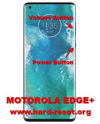 hard reset motorola edge+ (plus)