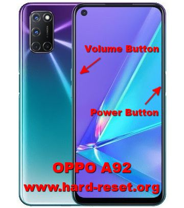 hard reset oppo a92