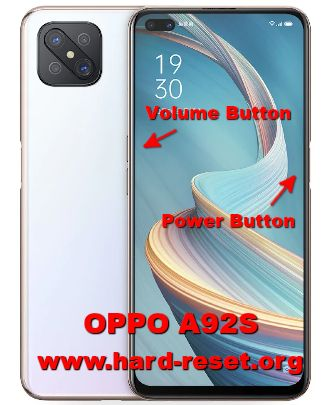 hard reset oppo a92s