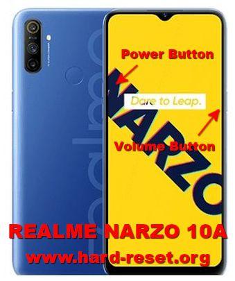 hard reset oppo realme narzo 10a (RMX2020)