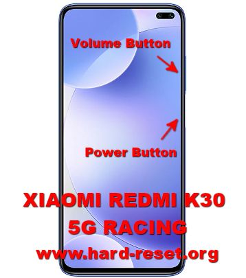hard reset xiaomi redmi k30 5g racing