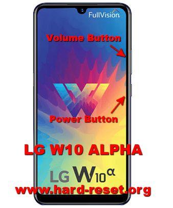 hard reset lg w10 alpha