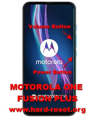 hard reset motorola one fusion plus