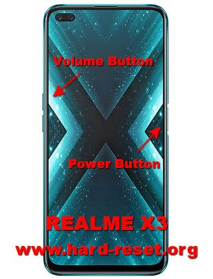 hard reset oppo realme x3 (RMX2142)