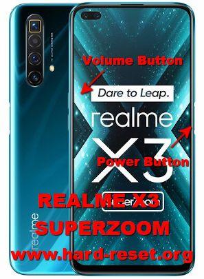 hard reset oppo realme x3 superzoom