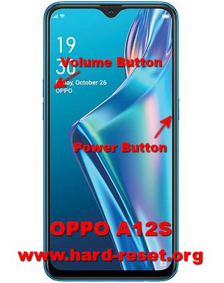 hard reset oppo a12s