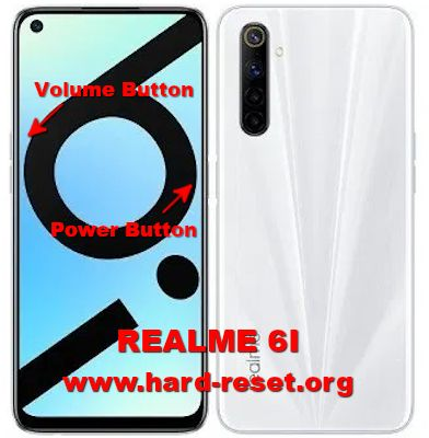 hard reset oppo realme 6i india version