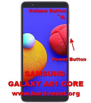 hard reset samsung galaxy a01 core