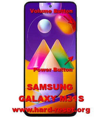 hard reset samsung galaxy m31s