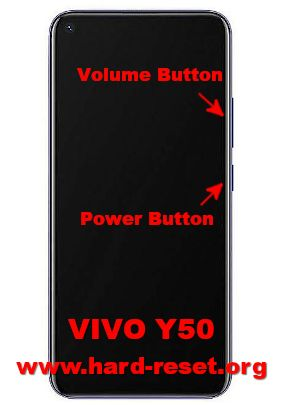 hard reset vivo y50