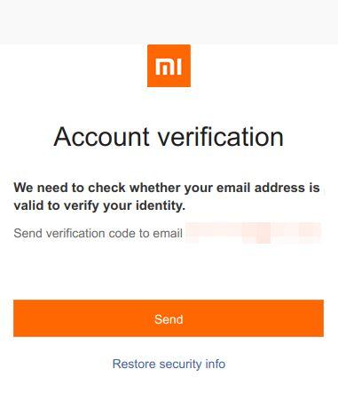 hard reset xiaomi mi account restore