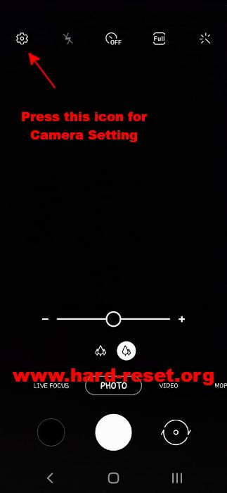 hard reset samsung camera fix & recovery