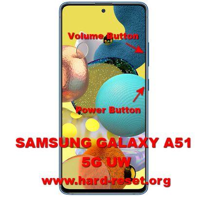hard reset samsung galaxy a51 5g uw